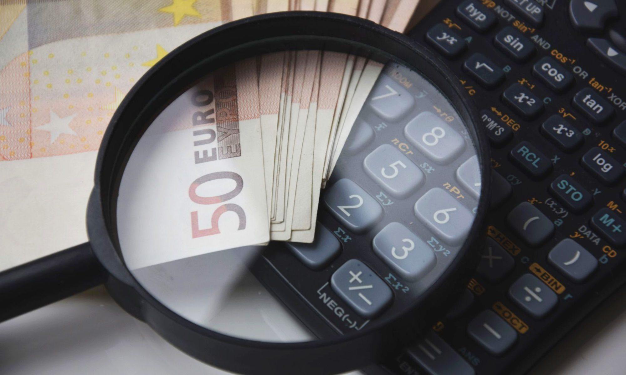 Zoom sur le calcul de l'argent